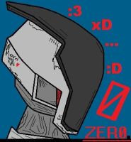 Zer0 as the number. by ARKENVOODAI