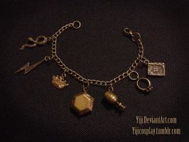 Harry Potter - Horcrux Charm Bracelet by Yiji