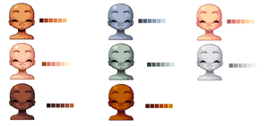 free skintones 8D by K3nel1OS