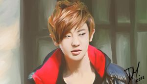 Chanyeol by RollingAlien
