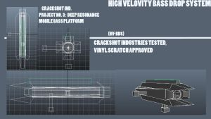 Bass cannon blueprint by wolf117M
