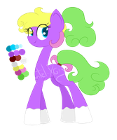 50PonyChallenge- 1# Candy :CLOSED: by XantaL-XGB