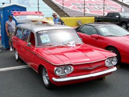 '62 Corvair Monza Wagon by DetroitDemigod