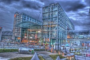 Central Station Berlin HDR by dikoxx