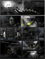 Moon and Sirius Comic Pg. 1 by MoonstalkerWerewolf