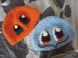 Charmander and Squirtle by LilliM00