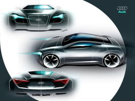 audi sketches by carlexdesign