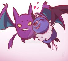 Bat Hearts by Dilutra