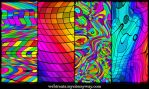 Chromatic Rainbow Patterns by WebTreatsETC