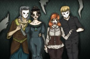 Puppets Masters and Mannequins original by lonelymori