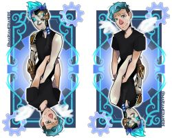 Crankgameplays - Tarot Card by MariaMediaHere