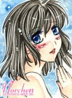 :ACEO RAFFLE: 054 - Let me be your deep blue by oONorchenOo