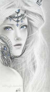 Frost Faerie by Inktangles