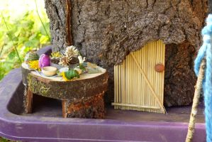 Fairy House by PamplemousseCeil