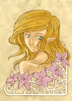 Forgotten lilies by Shukria