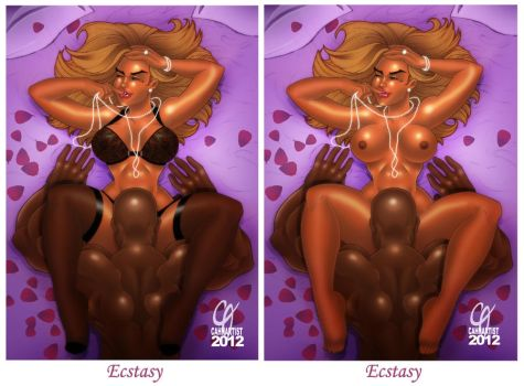 Ecstasy Edited and Unedited Version by Cahnartist