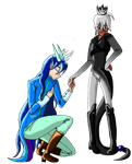 My reign as king ends for the year and yours begin by PhantomSaintKurai