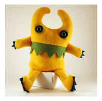 Big Cuddly Yellow Monster by treesofmachinery