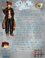 Doctor Who Fandom (Fandomstuck)(Reference) by Aryan-MMVA
