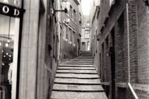 Cobblestone Steps by KEArnold
