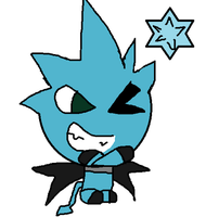 Black Star Chao by MienfooInTraining