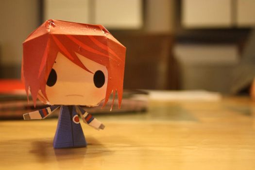 Gerard Way Papercraft by SnowBlueWolf