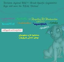 Deviants Against BSL by Daughter-Of-Wolves