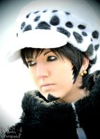 One Piece - Trafalgar Law Cosplay - I'll beat you by Murdoc-lein