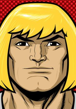 He-man Portrait Sot Commission by Thuddleston