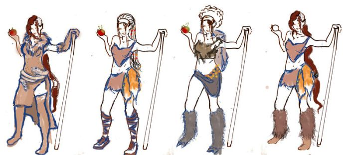 Ascension XI : Character DEsign by Sol-Gatito