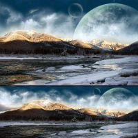 Glacial Mountains by nuaHs