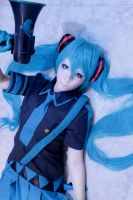 Miku Hatsune Love is War by CosPlayJG