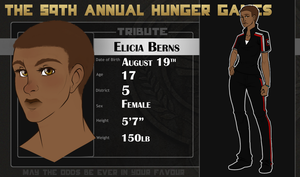District 5 Tribute: Elicia Berns by Vixii