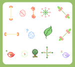 free forest themed cursors by xaxiko