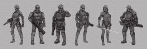 Star Wars Armored Concepts Line-up by abellius