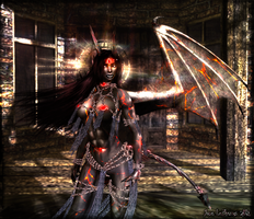 Demon Queen Kariss - Second Life by Jace-Lethecus