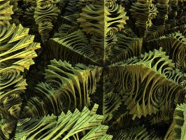 Fern Garden by recycledrelatives