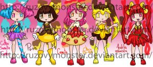 Adopt- Candy Candy set by ruzovymonster