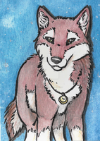 ACEO Card _ maggy-mitchi by Cristaleyes
