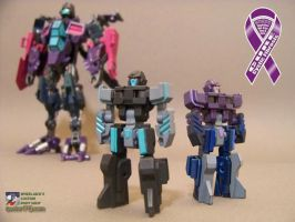 Hairsplitter and Singe by WheelJack-S70