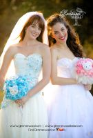 Hello Kitty Wedding Dresses by glimmerwood