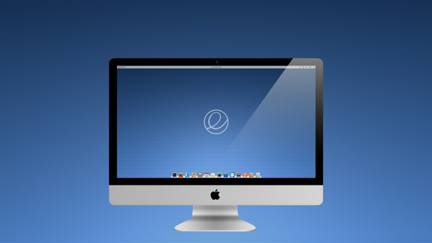 Elementary os striped blue by chicoray