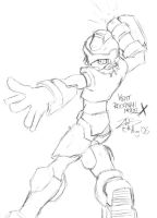 Vent - Rockman Model X by zephyron