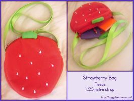 Strawberry Bag -For sale- by AngelBless