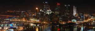 Super Panorama - Pittsburgh by GTX-Media