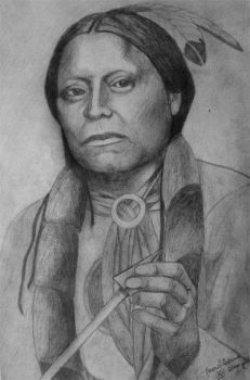 Native american by littleindian