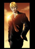 blond guy by flo-moshi