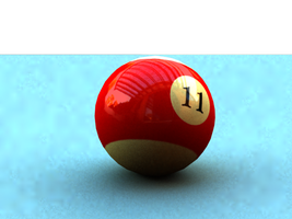 HDRI Example - Billiard Ball by VeggieB0i