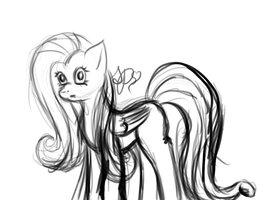 :doodles: Fluttershy by sweet-peeps