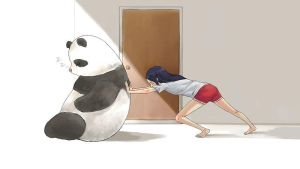 push panda by currybread